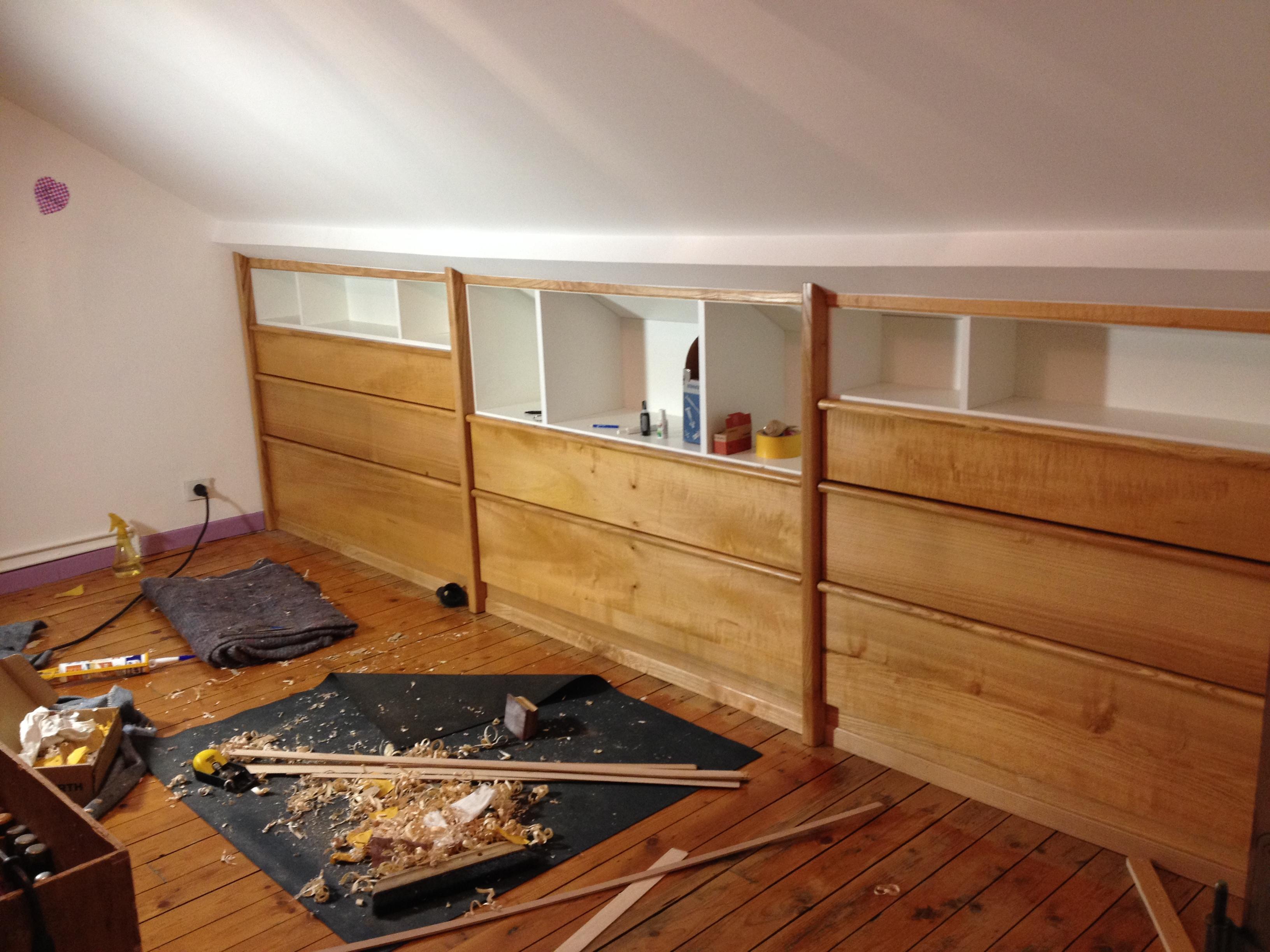 meuble sous comble interieur accueil design et mobilier. Black Bedroom Furniture Sets. Home Design Ideas